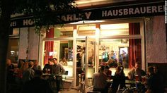 Hops and Barley in Berlin offers fruity wheats, a four-malt dark beer and rotating specials, including single-hopped Australian and American-style ales.