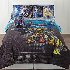 ...  Hasbro Transformers Alien Machines Twin/Full Reversible Comforter