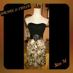RACHEL & CHLOE FLORAL DESIGN DRESS SIZE M ~GENTLY USED & WELL STORED  ~ ~ PLS SEE PIC 4 FOR SIZE DETAILS ~ ~FEEL FREE TO MAKE A FAIR & DECENT OFFER ~ ~WILLING TO DO BUNDLES SAVE MORE ~  ~ADDITIONAL 10% OFF @ CHECKOUT ~ ~PLEASE ASK ME TO DOUBLE CHECK B4 PURCHASING I SELL ON OTHER SITES SOMETIMES THE DAY CAN GET HECTIC SO TO AVOID CANCELATIONS PLEASE NOTE  ~ ~I ANSWER ?'s 6:30AM - 8:30PM PACIFIC TIME WHEN I AM NOT DRIVING ~?'S AFTER 8:30PM PT WILL BE ANSWRED NEXT DAY ~THANK YALLZ FOR THE…