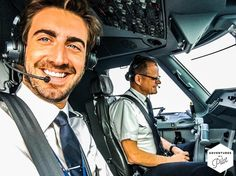 From @adventuresofapilot Years of hardship and battling the odds trying to make this completely bonkers dream of becoming a pilot a reality culminated in an absolutely enormous smile on the 1st of October. Moments after  this shameless selfie was taken I pushed the thrust levers forward and took this 40m machine into the air for the first time. Few people know how truly difficult it is to make your dreams come true. The sacrifices you have to make the people you have to leave behind the…