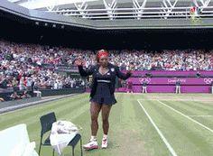 Serena at the Olympics