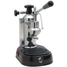 La Pavoni Europiccola Manual Espresso Machine - Black EPBB-8 - My Espresso Shop