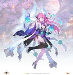 Anime Girl Neko, Anime Oc, Anime Demon, Anime Art Girl, Kawaii Anime, Female Character Design, Game Character, Character Concept, Concept Art