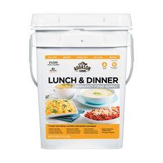 Augason Farms Lunch and Dinner Emergency Food Supply Pail #AugasonFarms