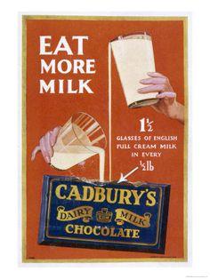 cadbury's back then