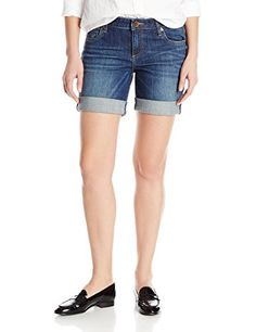 KUT from the Kloth Women's Catherine Boyfriend Short In Tact >>> Click image to review more details.