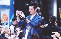 """"""" A Photo a Day x Dan Smith (18/100) Source: Bastille Performs on NBC's Today Show """""""