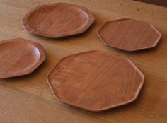 KAKUDO Plate by Oji Masanori   American cherry