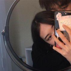 Korean Aesthetic, Couple Aesthetic, Aesthetic Girl, Aesthetic Pictures, Photo Couple, Love Couple, Couple Goals, Korean Ulzzang, Ulzzang Boy