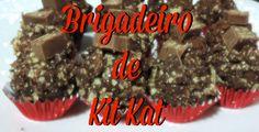 Receita de brigadeiro de kit kat - http://clubedebrigaderia.com.br/brigadeiro-de-kit-kat/