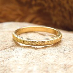 Hey, I found this really awesome Etsy listing at https://www.etsy.com/listing/233971493/art-deco-engraved-wedding-band-in-yellow