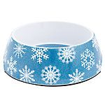 Top Paw® Holiday Snowflake Dog Bowl