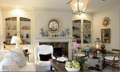 Joni Webb's family room - Cote de Texas