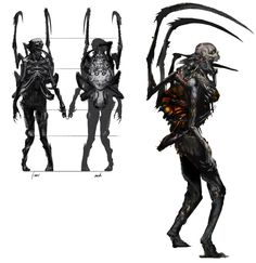 Parasitized Enemy from Dark Souls II