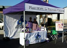 Purple Iris Foundation Plant HOPE for pancreatic cancer