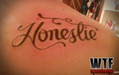 Funny Tattoos Fails, Tattoo Fails, Weird Tattoos, Funny Fails, Tattoo Quotes, No Ragrets Tattoo, Misspelled Tattoos, Latin Tattoo, Tattoo Mistakes