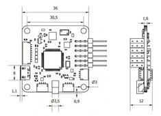 CC3D Revolution Mini Combo OP Flight Controller OPLINK