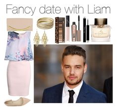 """""""Fancy date with Liam"""" by amu1234 ❤ liked on Polyvore featuring Boohoo, Steve Madden, Urban Decay, Burberry, NARS Cosmetics, Benefit, Christian Dior, BCBGeneration, See by Chloé and Payne"""