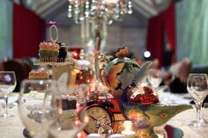 Bringing a Mad Hatter's Tea Party to life with Digital Styling ~ Event and Event Staging web blog