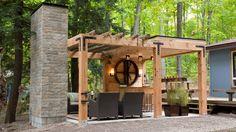 Le pavillon privé | Chalet d'été | CASA