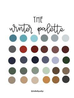 Colour Pallette, Color Combos, Color Schemes, Winter Colour Palette, Christmas Colour Palette, Palette Art, Colours That Go Together, Ipad, Design Seeds