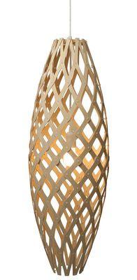 Sospensione Hinaki, natural #wood #lamp #pendant_lamp, by Moaroom, at Made In Design Italia