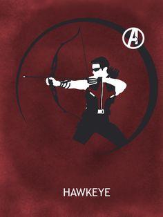 """Hawkeye"" by Matthew Saxon"