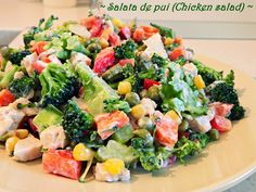 Chicken Salad, Cobb Salad, Food, Salads, Meals, Yemek, Eten