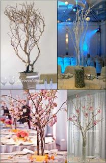 Branch Centerpiece Ideas