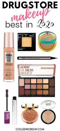 Check out our updated list of the best drugstore makeup products worthy of holy grail status in 2020. #best #drugstore #makeup #2020 Best Drugstore Makeup, Drugstore Makeup Dupes, Revlon Makeup, Makeup Must Haves, Makeup To Buy, Basic Makeup Kit, Best Eyebrow Products, Beauty Products, Best Cheap Makeup
