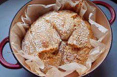 Σπιτικό Ψωμί χωρίς Ζύμωμα No Knead Bread, Camembert Cheese, Recipes, Food, Decor, Fine Dining, Decoration, Essen, Eten
