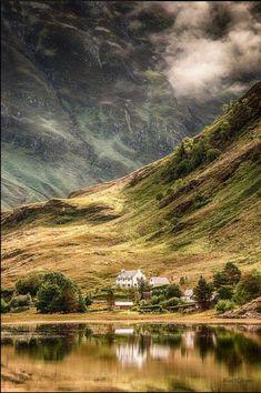 At the Loch Duich in Scotland.