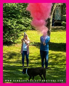 Gender Reveal Smoke Announcements