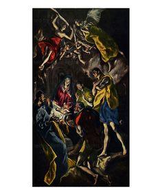 Adoration of Jesus, El Greco, Artist painter, digital giclee reproduction