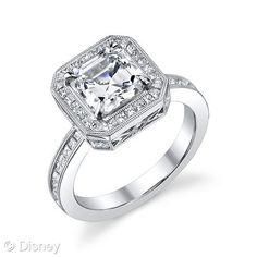I kinda hate to admit it, but I like the Disney engagement rings.  This is Sleeping Beauty
