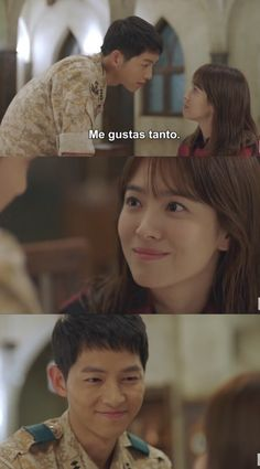 Image about quotes in 💖 by valeria pinelo on We Heart It Korean Drama Best, Korean Drama Funny, Song Hye Kyo, Song Joong Ki, Hau Due Mat Troi, Descendants Of The Sun Wallpaper, Decendants Of The Sun, Thai Drama, Guy Names