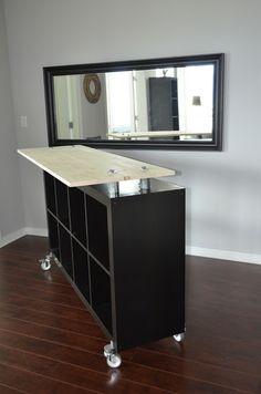 Mighty Sparrow Design: Ikea Hack - Expedit standing desk