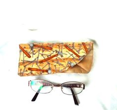 Man's glasses case Mens Hammer and Nails fabric by AlsCraftyCorner