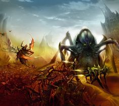 Image result for pulp sci fi giant bugs