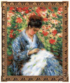 Camille Monet - Cross Stitch Craft Kits by RIOLIS - 100/051