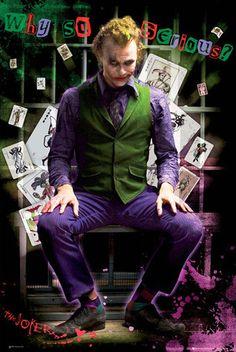BATMAN DARK KNIGHT - joker jail
