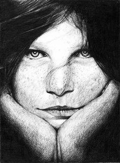 Retrato a lápiz ;) #illustration
