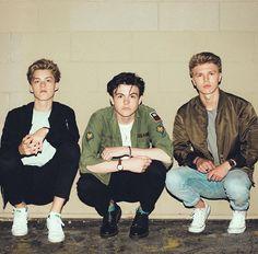 Reece❤️ + Blake❤️ + George❤️ = New Hope Club ❤️❤️❤️ New Hope Club, A New Hope, Moda Indie, Blake Richardson, Reece Bibby, Chill Style, British Boys, Adventures In Wonderland, The Vamps