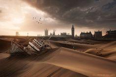 GLOBAL WARMING 2 - LONDON IN THE YEAR 2090. ;-)
