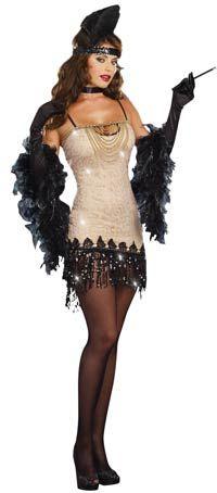 Jazzy Jezebel Sexy Flapper Costume - Sexy Costumes
