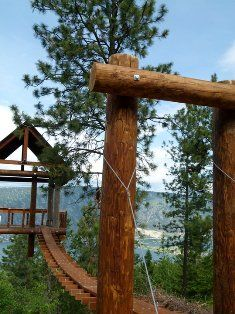 Oyama Zipline, just 20 minutes from Vernon, offers thrills aplenty. Get hours, rates, seasons and information for ziplining in Vernon BC. Vernon Bc, Canada Travel, Summer Travel, Staycation, British Columbia, Day Trips, Tourism, Wanderlust, Travel