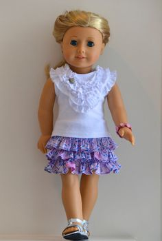 18 Inch Doll American Girl Doll Clothing Knit by Simply18Inches, $32.00