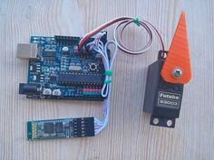 Arduino Bluetooth Servo Motor Control