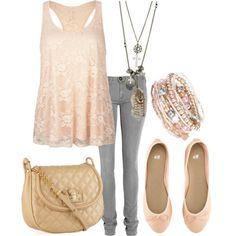 it seems like something my sister would wear,but I love it! <3