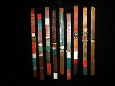 Story Stick: Rhonda Cearlock: Ceramic Wall Art - Artful Home